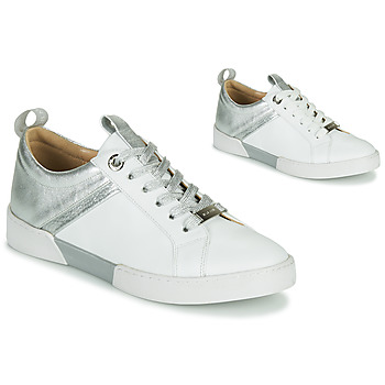Shoes Girl Low top trainers JB Martin GELATO White / Silver