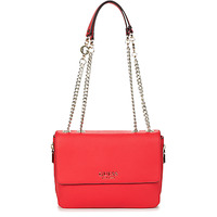 Bags Women Shoulder bags Guess G CHAIN CONVERTIBLE XBODY FLAP Red