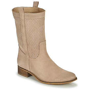 Shoes Women Boots Betty London ONEVER Beige