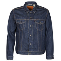 material Men Denim jackets Levi's THE TRUCKER JACKET Blue