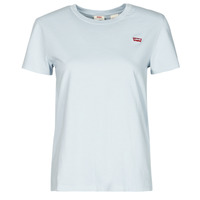 material Women short-sleeved t-shirts Levi's PERFECT TEE Grey