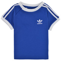 material Children short-sleeved t-shirts adidas Originals GN8190 Blue
