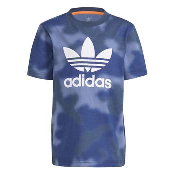 material Boy short-sleeved t-shirts adidas Originals GN4119 Blue