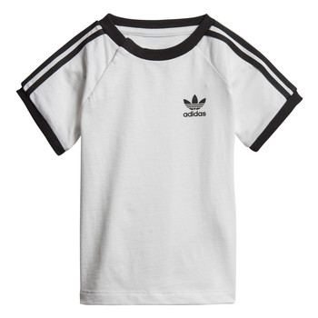material Children short-sleeved t-shirts adidas Originals DV2824 White