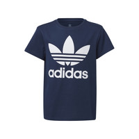 material Children short-sleeved t-shirts adidas Originals GD2679 Blue