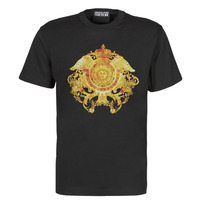 material Men short-sleeved t-shirts Versace Jeans Couture TIKI Black