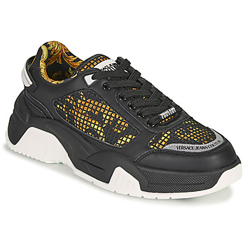Shoes Men Low top trainers Versace Jeans Couture HATINA Black