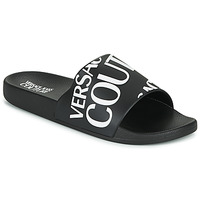 Shoes Men Sliders Versace Jeans Couture TENNIA Black / White