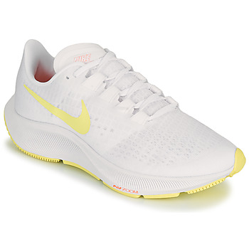 Shoes Women Running shoes Nike AIR ZOOM PEGASUS 37 White / Yellow