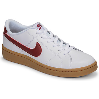 Shoes Men Low top trainers Nike COURT ROYALE 2 LOW White / Red