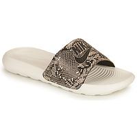 Shoes Women Sliders Nike VICTORI PRINT BENASSI Kaki