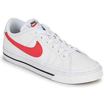 Shoes Women Low top trainers Nike COURT LEGACY White / Pink