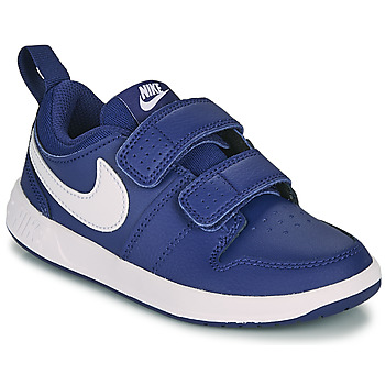 Shoes Boy Low top trainers Nike PICO 5 PS Blue / White