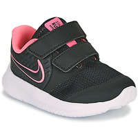 Shoes Girl Multisport shoes Nike STAR RUNNER 2 TD Black / Pink