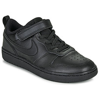 Shoes Children Low top trainers Nike COURT BOROUGH LOW 2 PS Black
