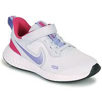 Shoes Girl Multisport shoes Nike REVOLUTION 5 PS Blue