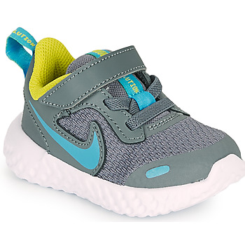 Shoes Boy Multisport shoes Nike REVOLUTION 5 TD Grey / Blue