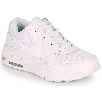 Shoes Children Low top trainers Nike Air Max Excee PS White