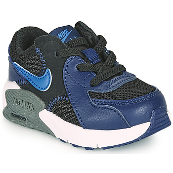 Shoes Boy Low top trainers Nike Air Max Excee TD Blue