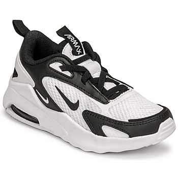 Shoes Children Low top trainers Nike AIR MAX BOLT PS White / Black