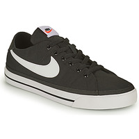 Shoes Men Low top trainers Nike NIKE COURT LEGACY CANVAS Black / White