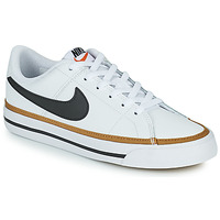 Shoes Children Low top trainers Nike NIKE COURT LEGACY White / Black