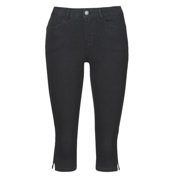material Women cropped trousers Vero Moda VMHOT SEVEN Black