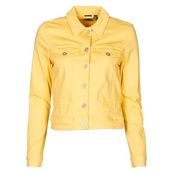 material Women Denim jackets Vero Moda VMHOTSOYA Yellow