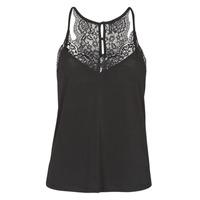 material Women Tops / Sleeveless T-shirts Vero Moda VMANA Black