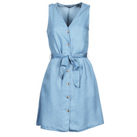 material Women Short Dresses Vero Moda VMVIVIANA Blue / Clear