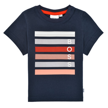 material Boy short-sleeved t-shirts BOSS ENOLITO Marine