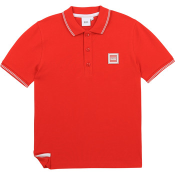 material Boy short-sleeved polo shirts BOSS BARBORA Red