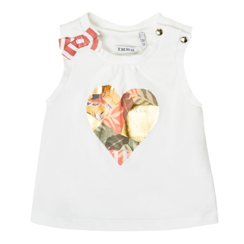 material Girl Tops / Sleeveless T-shirts Ikks XS10030-19 White