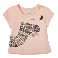 material Girl short-sleeved t-shirts Ikks XS10100-32 Pink