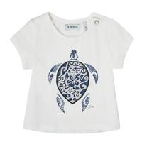 material Girl short-sleeved t-shirts Ikks XS10070-19 White