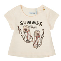 material Girl short-sleeved t-shirts Ikks XS10090-11 White