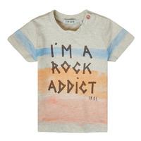 material Boy short-sleeved t-shirts Ikks XS10061-60 Multicolour