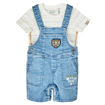 material Boy Jumpsuits / Dungarees Ikks XS37011-84 Blue