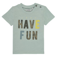 material Boy short-sleeved t-shirts Ikks XS10131-50 Blue