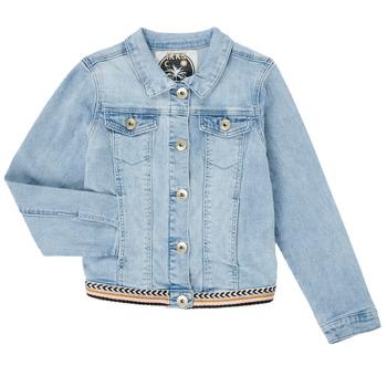 material Girl Denim jackets Ikks XS40152-84-J Blue