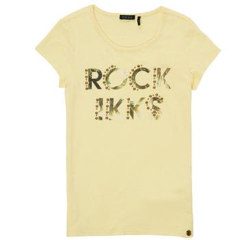 material Girl short-sleeved t-shirts Ikks XS10182-73-J Yellow
