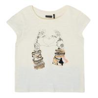 material Girl short-sleeved t-shirts Ikks XS10002-11-C White