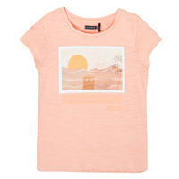 material Girl short-sleeved t-shirts Ikks XS10332-32-C Pink