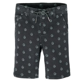 material Boy Shorts / Bermudas Ikks XS25063-02-J Black