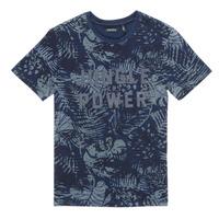 material Boy short-sleeved t-shirts Ikks XS10153-46-J Marine