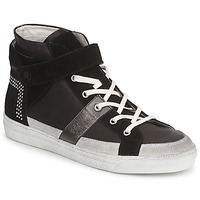 Shoes Women High top trainers Janet Sport ISABEL MARGETTE Black