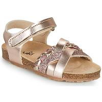 Shoes Girl Sandals Mod'8 KOENIA Pink / Gold