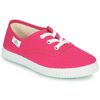 Shoes Girl Low top trainers Citrouille et Compagnie KIPPI BOU Pink