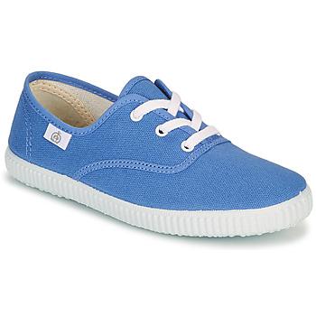 Shoes Children Low top trainers Citrouille et Compagnie KIPPI BOU Blue