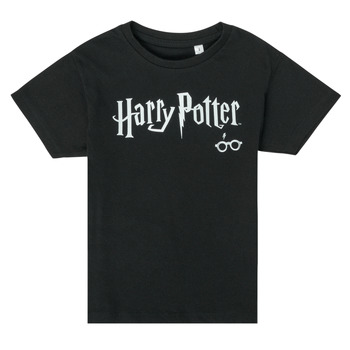 material Children short-sleeved t-shirts TEAM HEROES  HARRY POTTER Black